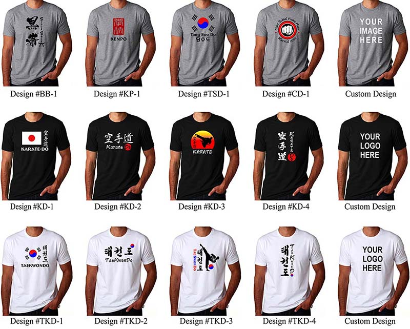 Custom Shirts In Japanese Korean Chinese Calligraphy